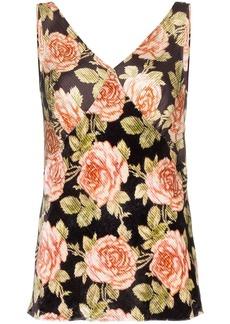 Paco Rabanne floral print blouse