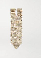 Paco Rabanne Gold-tone Chainmail Single Earring