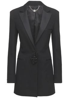 Paco Rabanne Grain De Poudre Wool Jacket