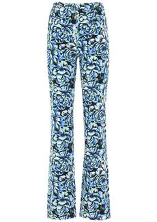 Paco Rabanne High Waist Printed Cotton Pants