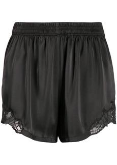 Paco Rabanne lace detail short shorts