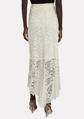 Paco Rabanne Lace Maxi Skirt