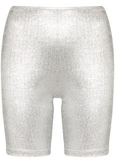 Paco Rabanne logo band cycling shorts