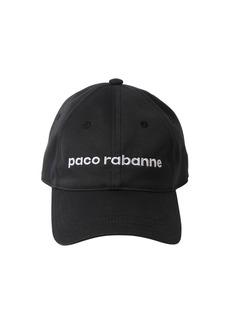 Paco Rabanne Logo Cotton Hat