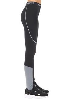 Paco Rabanne Logo Technical Jersey Leggings