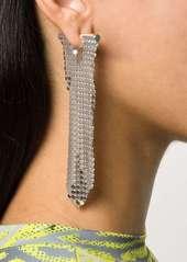 Paco Rabanne mesh drop earring