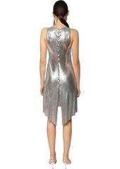 Paco Rabanne Metal Mesh Mini Dress W/ Slits