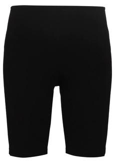 Paco Rabanne Milano logo print cycling shorts