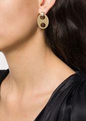 Paco Rabanne oval cut-out earrings
