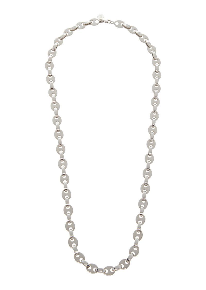 Paco Rabanne - Women's Eight Nano Silver-Tone Necklace - Silver/gold - Moda Operandi