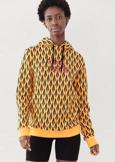 Paco Rabanne Diamond Fleece Sweatshirt
