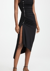 Paco Rabanne Draped Jersey Dress