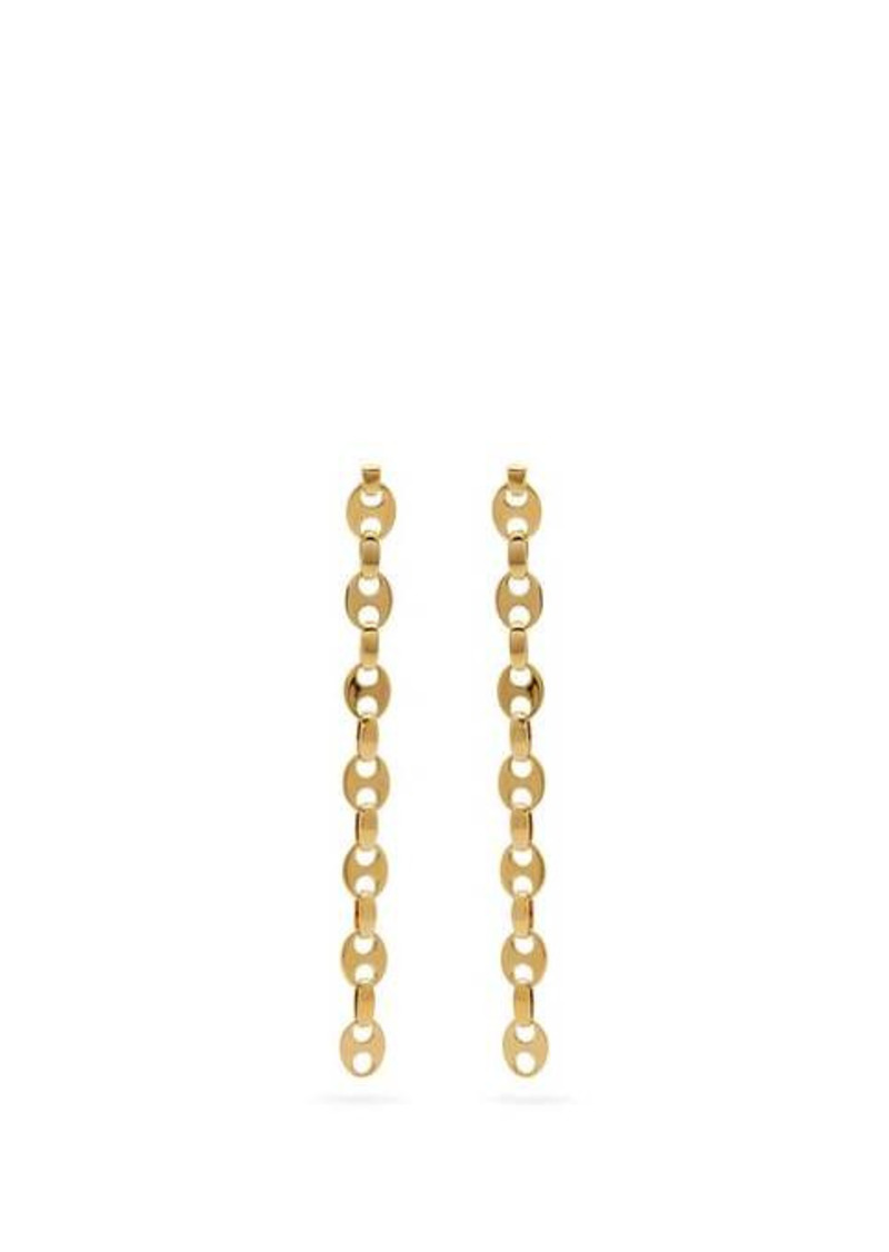 Paco Rabanne Eight Nano link earrings