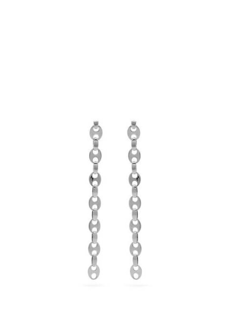Paco Rabanne Eight Nano link earrings