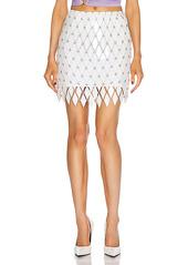 PACO RABANNE Embellished Mini Skirt