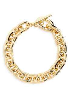 paco rabanne Extra Large Link Collar Necklace
