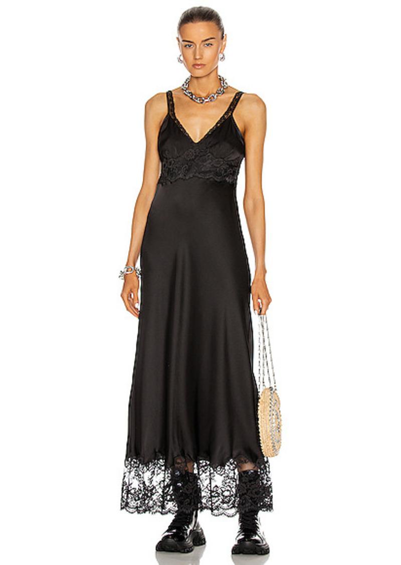 PACO RABANNE Lace Trim Dress