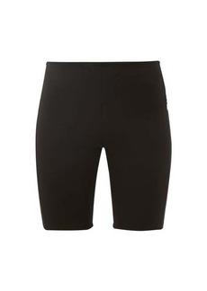Paco Rabanne Logo-intarsia jersey cycling shorts