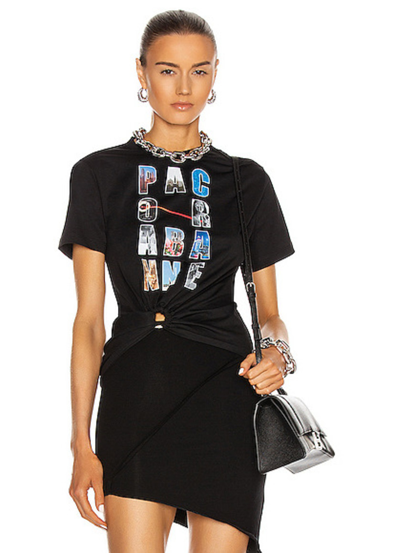 PACO RABANNE Logo Tee Shirt