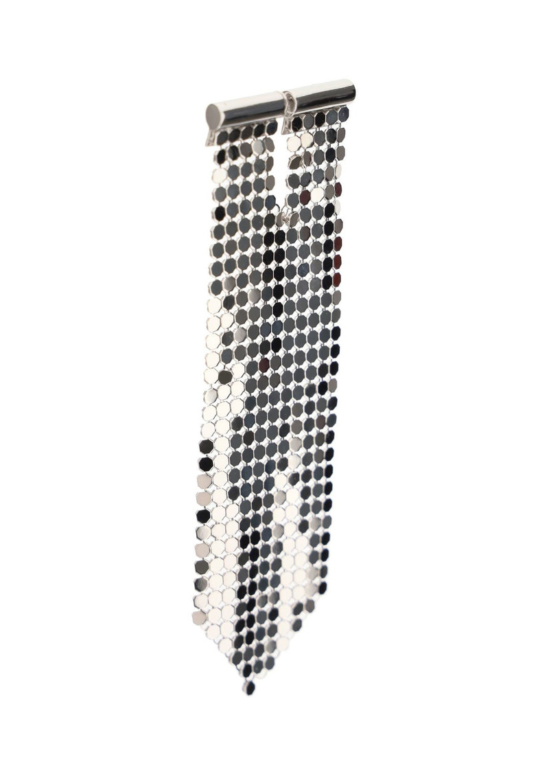 Paco Rabanne Mesh Pixel Tie Earring