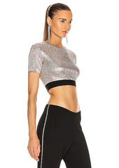 PACO RABANNE Metallic Crop Top