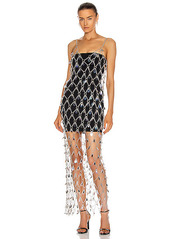 PACO RABANNE Net Chain Dress