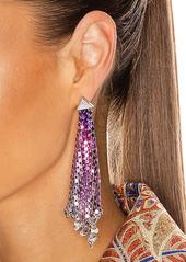 PACO RABANNE Pixel Flow Earrings