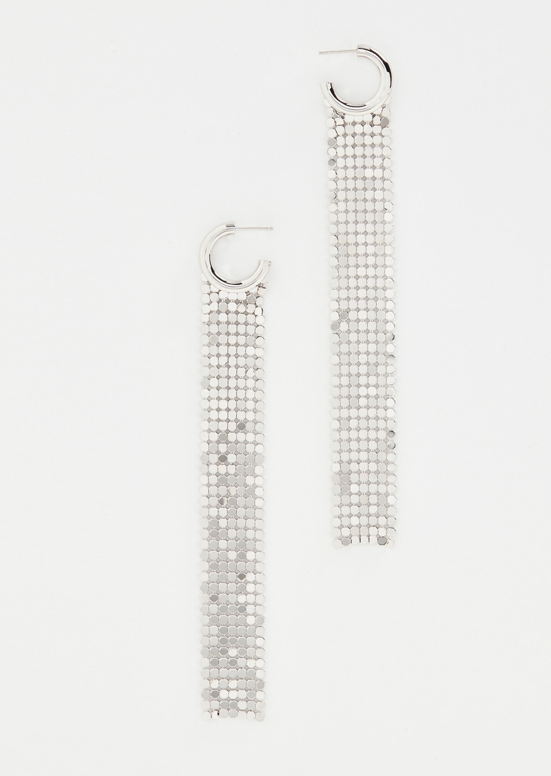 Paco Rabanne Pixel Long Earrings