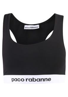 Paco Rabanne Branded Crop Top