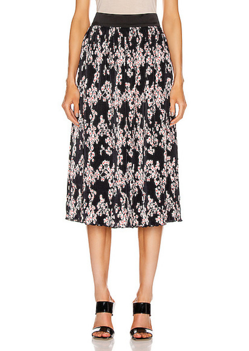 PACO RABANNE Printed Midi Skirt