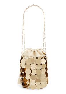 paco rabanne Sparkle Bucket Bag