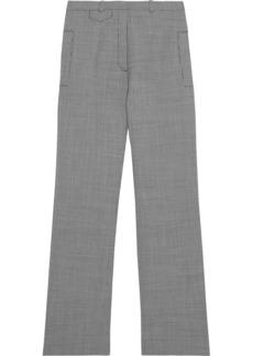 Paco Rabanne Woman Houndstooth Jacquard Straight-leg Pants Gray