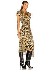 PACO RABANNE Wrap Asymmetrical Dress