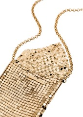 Paco Rabanne chain mesh pendant necklace