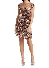 Paco Rabanne Paillette Mini Dress
