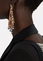 Paco Rabanne Pixel Flow Chainmail Earrings