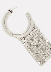 Paco Rabanne Pixel Mesh Hoop Earrings