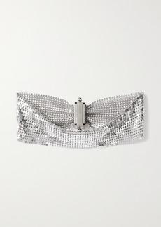 Paco Rabanne Pixel Silver-tone Chainmail Choker