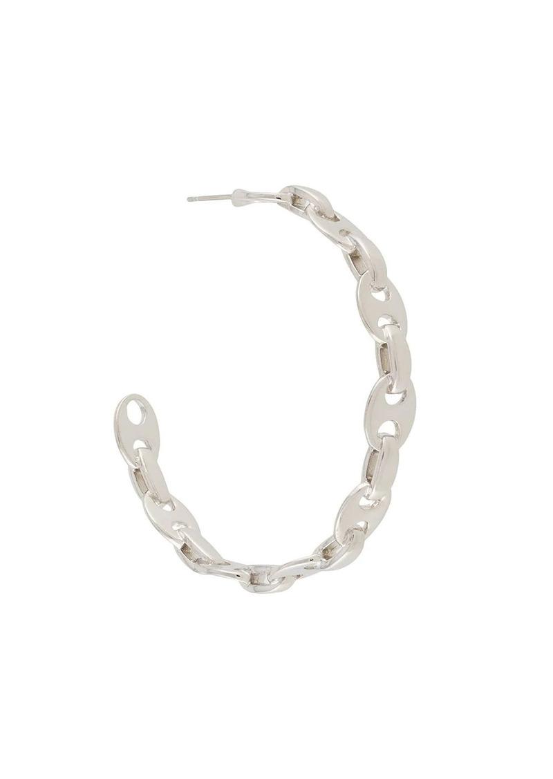 Paco Rabanne polished hoop earrings
