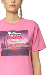 Paco Rabanne Printed Cotton Jersey T-shirt