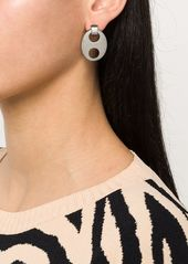 Paco Rabanne Silver Eight earrings