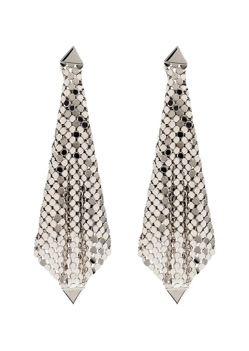 Paco Rabanne silver-tone earrings