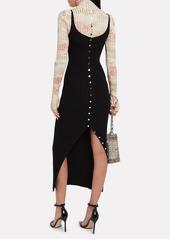 Paco Rabanne Sleeveless Rib Knit Dress