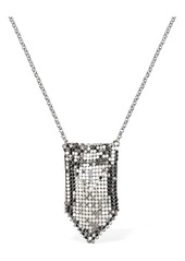 Paco Rabanne Small Mesh Pendant Necklace