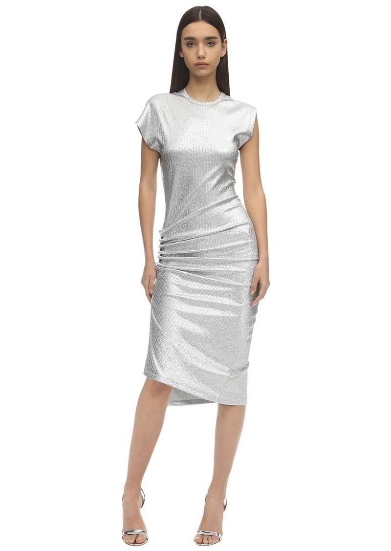 Paco Rabanne Stretch Lurex Dress