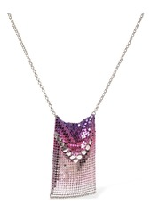 Paco Rabanne Tie & Dye Gradient Mesh Long Necklace