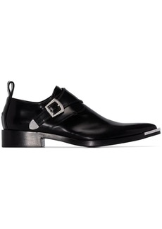 Paco Rabanne Western pointed-toe loafers
