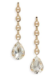 Women's Paco Rabanne Eight Nano Crystal Drop Earrings