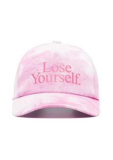 Paco Rabanne x Peter Saville Lose Yourself tie-dye baseball cap
