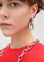 Paco Rabanne Xl Chunky Hoop Earrings